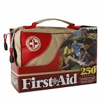 Be Smart Get Prepared First Aid Kit, 250 Pieces