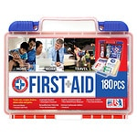 Be Smart Get Prepared First Aid Kit, 180 Pieces- 1 kit