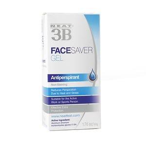 Neat 3B Face Saver Anti-Perspirant Gel- 1.76 oz