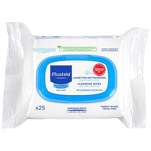 Mustela Facial Cleansing Cloths- 25 ea
