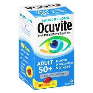 Ocuvite Eye Health Adult 50+- 90 ea