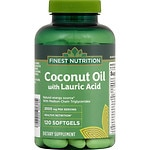 Finest Nutrition Coconut Oil, Softgels- 120 ea