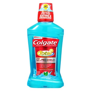 Colgate Total Advanced Pro-Shield Mouthwash, Peppermint Blast- 16.9 oz