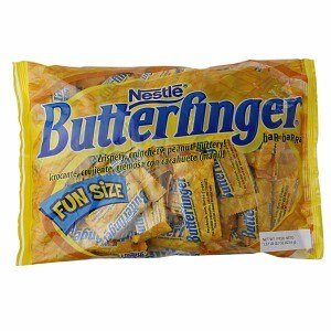 Nestle Butterfinger Fun Size Bag, 22 oz