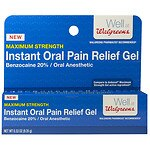 Walgreens Instant Oral Pain Relief Gel- .33 oz