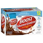 Boost Glucose Control Nutritional Drink, Rich Chocolate, 8 oz