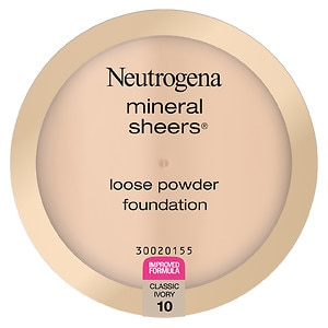 Neutrogena Mineral Sheers Loose Powder Foundation, Classic Ivory 10