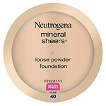 Neutrogena Mineral Sheers Loose Powder Foundation, Nude 40- .19 oz