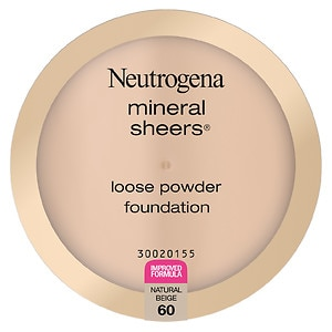 Neutrogena Mineral Sheers Loose Powder Foundation, Natural Beige 60
