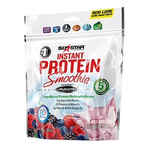 Six Star Elite Series Instant Protein Smoothie, Mixed Berry