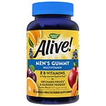 Nature's Way Alive! Men's Gummies Vitamins, Fruit