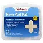 Walgreens First Aid Kit, Compact- 1 ea