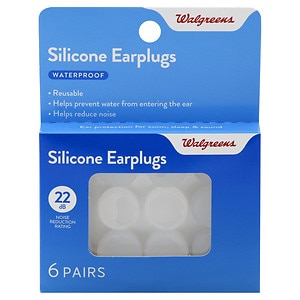 Walgreens Soft Silicone Ear Plugs- 6 pr