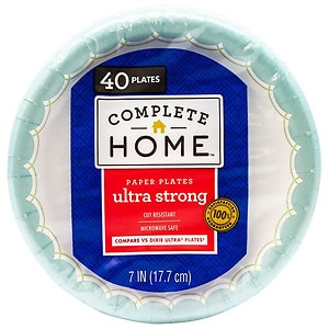 Nice! Ultra Strong Plates, 7 inch, 40 ea