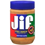Jif Crunchy Peanut Butter Spread