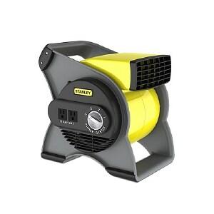 Lasko 655704 Stanley Multi Purpose Pivoting Blower Fan, 3 Speed