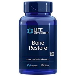 Life Extension Bone Restore Superior Calcium Formula, Capsules- 120 ea