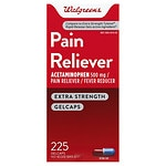 Walgreens Pain Reliever Quick Gels- 225 ea
