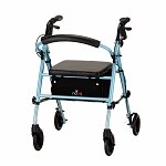Nova Vibe Rolling Walker with 6-inch Wheels 4236DB, Sky Diamond Blue- 1 ea