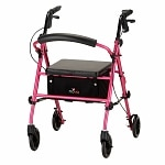 Nova Vibe Rolling Walker with 6-inch Wheels 4236PP, Pretty In