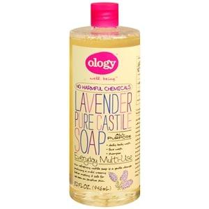 Ology Pure Castile Liquid Soap, Lavender- 32 oz