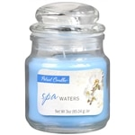 Patriot Candles Jar Candle, Blue, Spa Waters- 1 ea