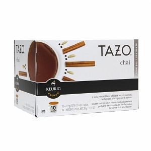 Tazo Tea K-Cups, Chai, 10 pk