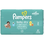 Pampers Baby Dry Diapers Size 2 Jumbo Pack- 37 ea