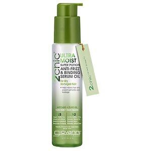 Giovanni 2chic Ultra-Moist Super Potion Anti-Frizz Binding Serum Avocado & Olive Oil