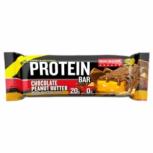 Six Star Chewy & Delicious Protein Bar, Chocolate Peanut Butter- 9 ea