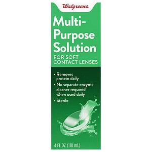 Walgreens Multi-Purpose Contact Lens Solution, 4 fl oz