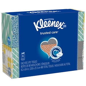 Kleenex Facial Tissue Upright Bundle, 6 pk