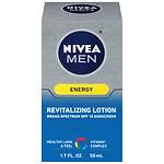 Nivea Men Sunscreen Lotion SPF 15, Energy- 1.7 oz