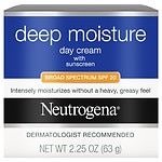 Neutrogena Deep Moisture Day Cream with Sunscreen Broad Spectrum