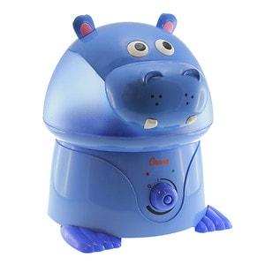 Crane USA Ultrasonic Cool Mist Humidifier Hippo, Periwinkle