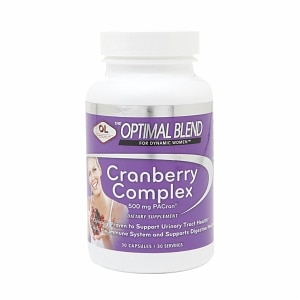 Olympian Labs Optimal Blend Cranberry Complex, Capsules, 30 ea