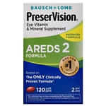 PreserVision AREDS 2 Formula Eye Vitamin & Mineral Supplement Softgels- 120 ea