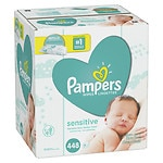 Pampers Sensitive Wipes Refill Packs, 7 pk