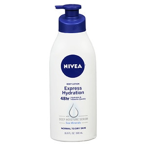Nivea Express Hydration Body Lotion, Lotus Flower