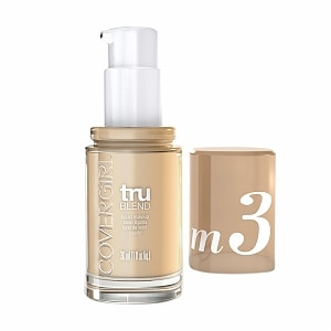 CoverGirl TruBlend Liquid Makeup, Golden Beige M3- 1 fl oz