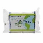 Twist Scrub Sponge- 6 ea