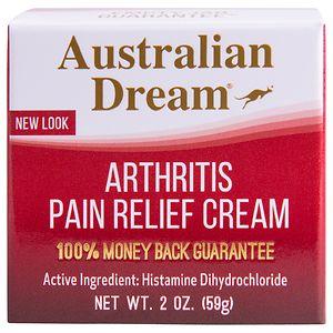 Australian Dream Arthritis Pain Relief Cream- 2 oz