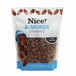 Nice! Almonds, Roasted & Salted- 16 oz