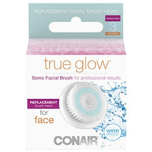 Conair True Glow Sonic Brush Replacement, Face