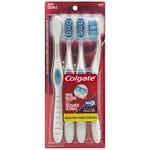 Colgate Optic White Toothbrush, Adult Full Head Soft 4 Pack- 1 ea