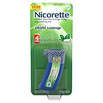 Nicorette Mini Lozenge, 4 mg, Mint