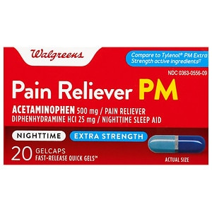 Walgreens Pain Reliever PM Gel- 20 ea