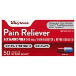 Walgreens Pain Reliever Extra Strength Quick Gel