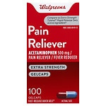 Walgreens Pain Reliever Extra Strength Quick Gel- 100 ea