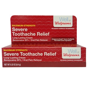 Walgreens Severe Tooth Ache Relief Paste